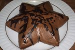 Weihnachtskuchen ---  Mandelsternkuchen