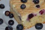 Blaubeer-Kuchen vom Blech mit Baiser