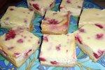 Käsekuchen mit Himbeeren, Himbeer-Schnitten