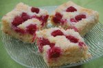 lockerer und lufiger Himbeer-Kokos-Kuchen