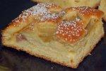 Rhabarberkuchen, sehr lockerer und luftiger Teig