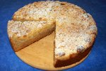 Birnenkuchen mit Streuseln