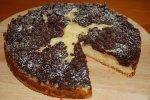 Birnenkuchen mit Schokostreusel