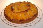 Einfacher Pfirsichkuchen