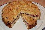 Streusel-Quarkkuchen mit Früchten