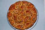 Rosettenkuchen - Rosenkuchen mit Nussfüllung