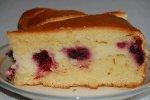 Waldfrucht-Kuchen mit Quarkcreme und verschiedenen TK-Waldfrüchten