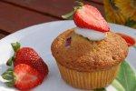 Erdbeer-Joghurt-Muffin