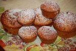 Frischkaese-Brombeer-Muffin