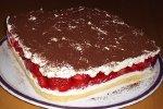 Erdbeer-Tiramisu-Schnitten