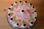 Limetten-Brombeer-Torte