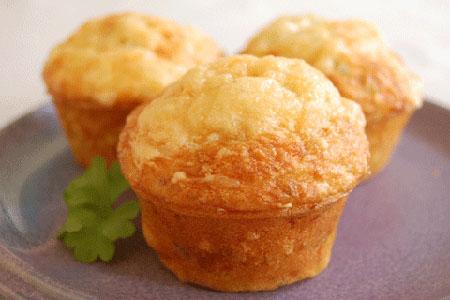 Ziegenkäse Rosmarin Muffins backen